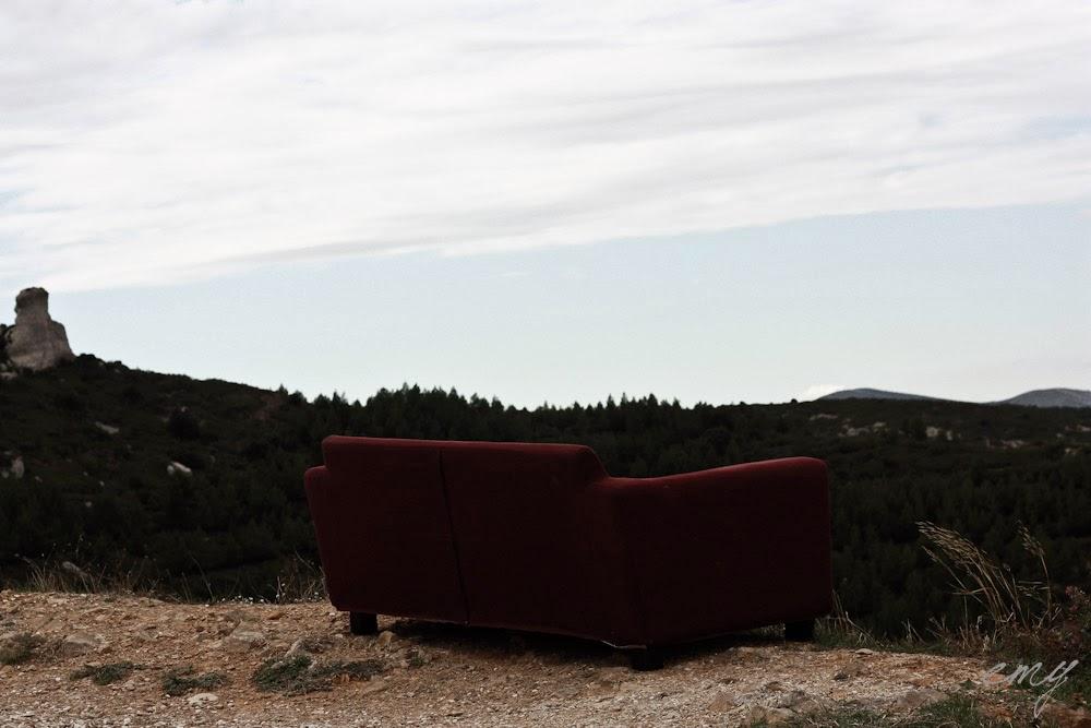 L'horizon et le sofa