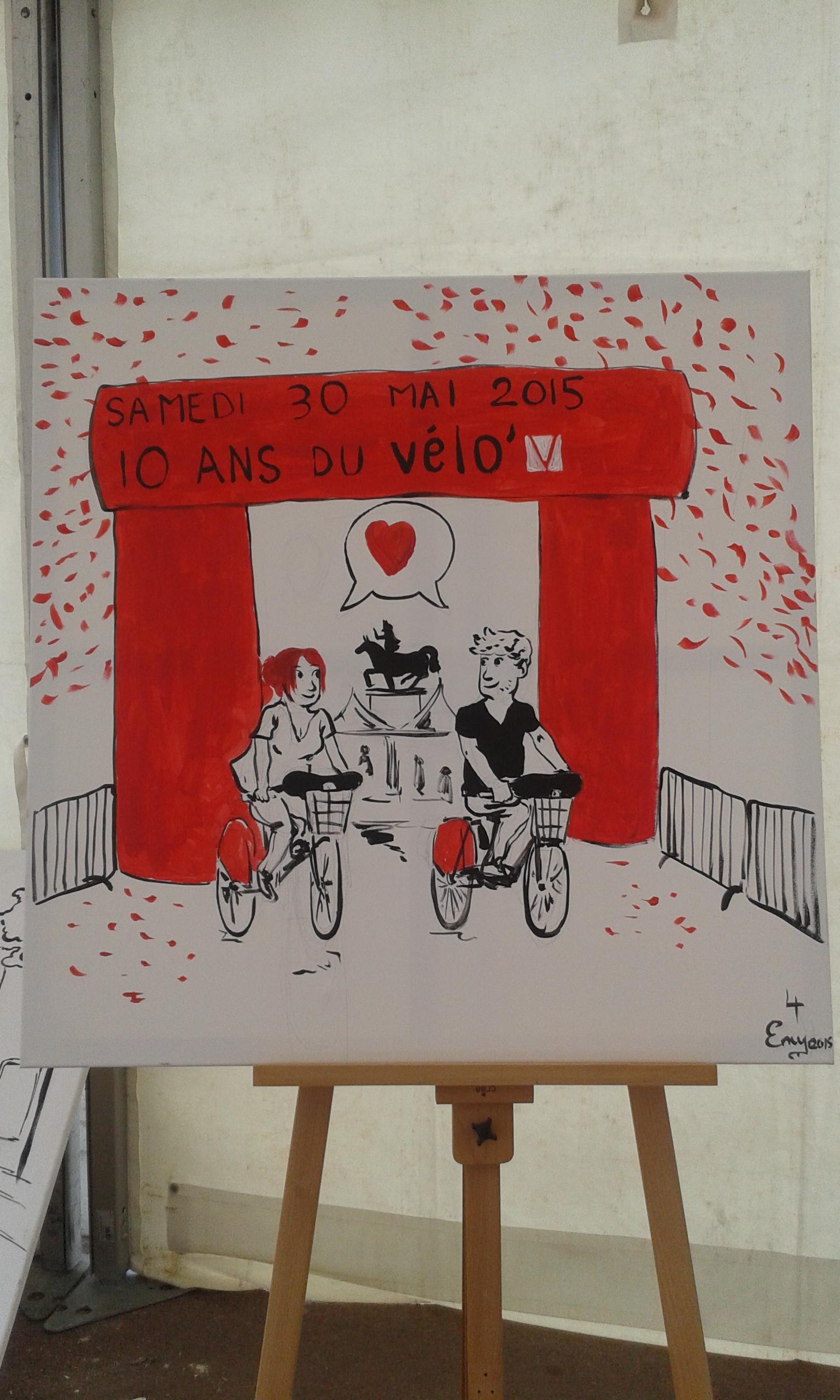10 ans ! Performance pour Vélo'v