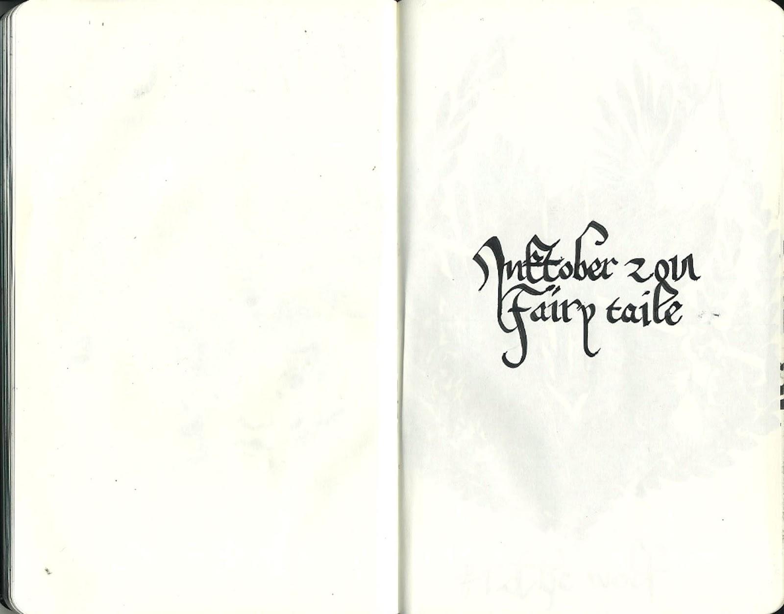 Inktober 2017: Fairy Taile
