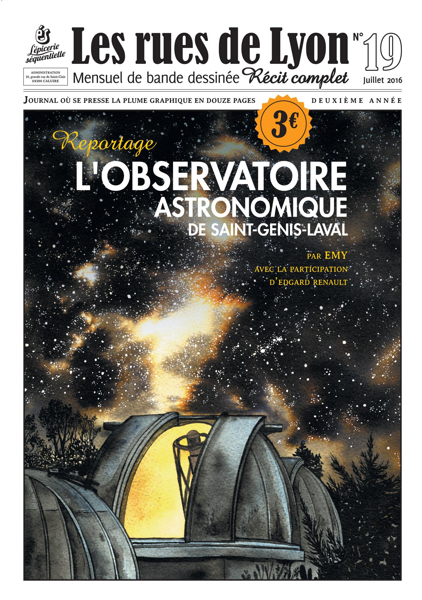 L'Observatoire Astronomique de St Genis Laval
